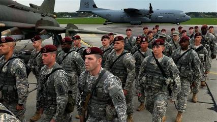 News video: U.S. Troops Arrive in Poland